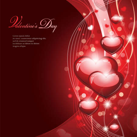 valentines day background: Valentine Design Illustration
