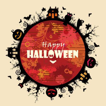 Halloween Frame Stok Fotoğraf - 15829860