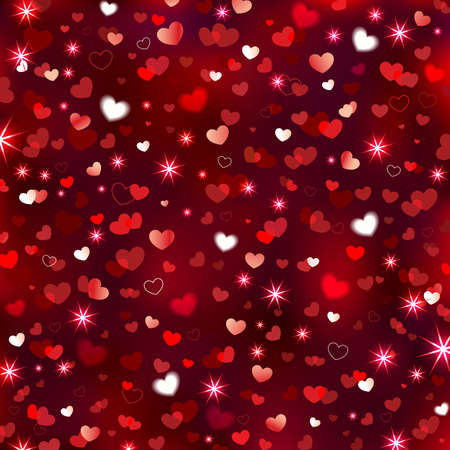 Valentines Sparkling Background Vector