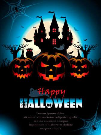 horror background: Spooky Halloween Background