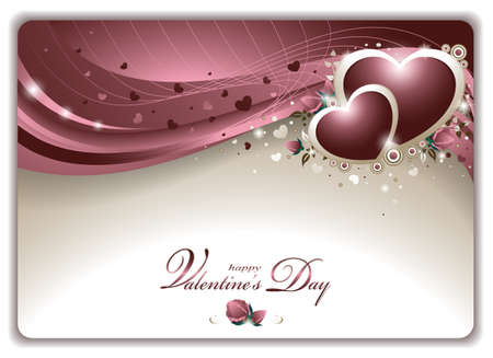 Elegant Valentines Card