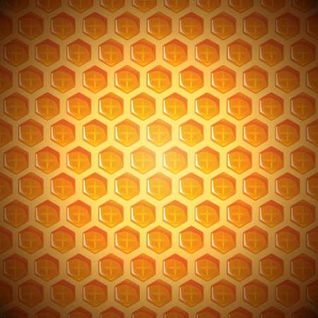 Honeycomb Background Stock Illustratie