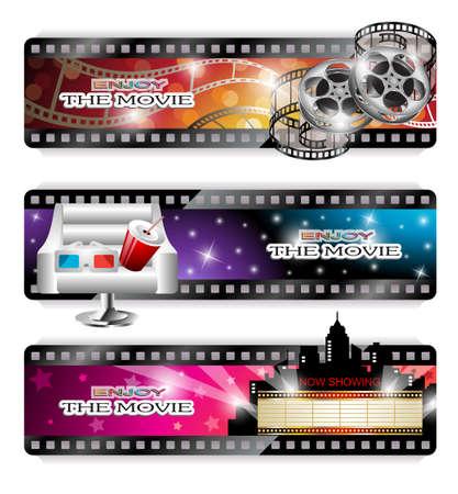 Cinema Banners Vector