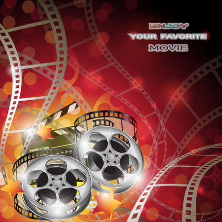 Abstract Cinema Background Vectores