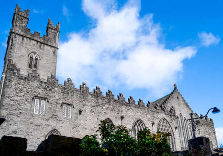 Exterior view of St Mary's Cathedral, founded in the 12th century and dedicated to the Blessed Virgin Mary.