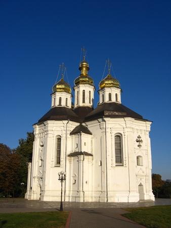Christian church of the eighteenth century photo