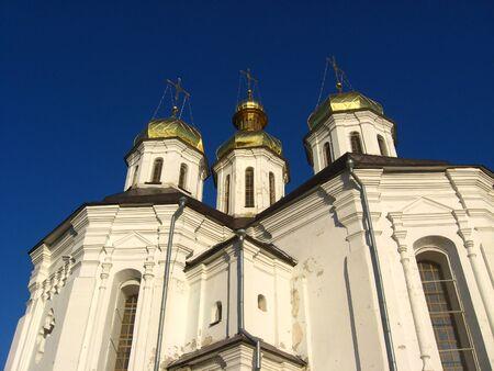 A beautiful Christian church of the eighteenth century photo