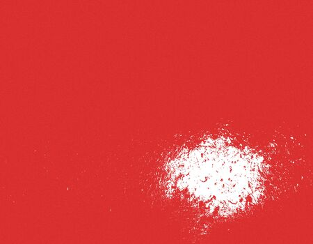 red background with white spot Stock Photo