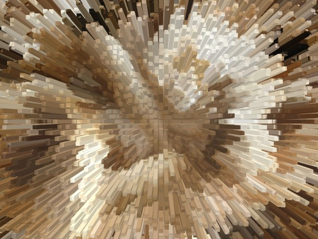 Background of the brown and white explosion Stock Photo - 12853899