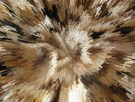 Background of the brown and white explosion Stock Photo - 12853922