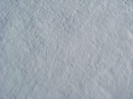 Thick layer of a white snow photo
