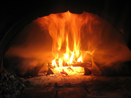 Fire from the furnace photo