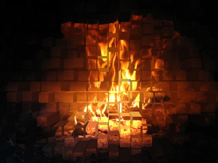 furnace: Flame in the furnace