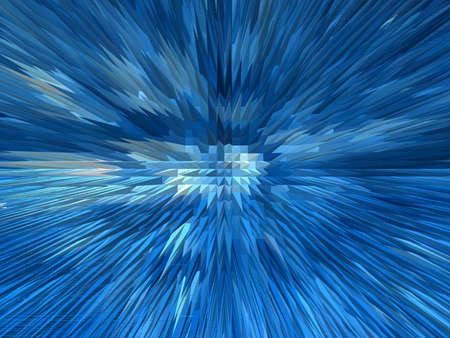 reflaction: Blue sharp abstract background