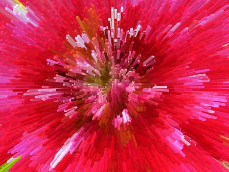 Image of red abstract sharp and prickly background photo