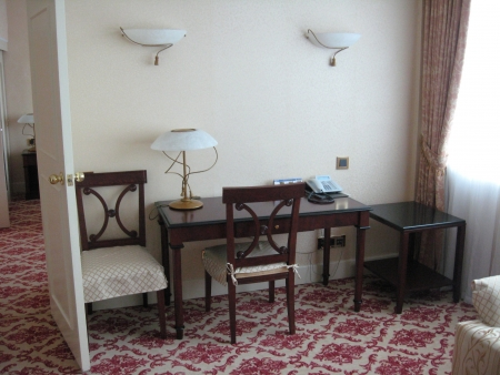 image of comfort room with luxury decor in hotel