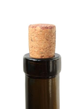 corkwood: corcho de alcornoque en la botella de vino