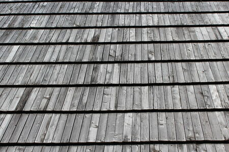 housetop: surface of wooden house-top in Western Ukraine