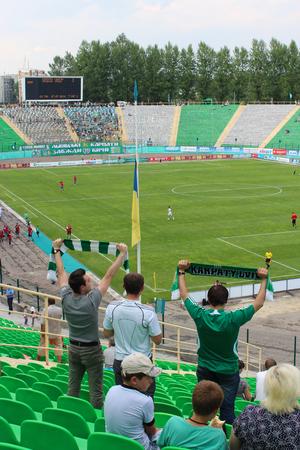 arsenal: championship for football of Ukraine, match between Carpaty Lvov and Arsenal Kiev