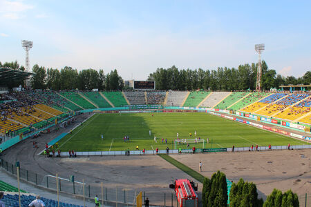 arsenał: championship for football of Ukraine, match between Carpaty Lvov and Arsenal Kiev