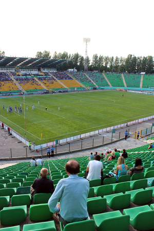 arsenal: championship for football of Ukraine, match between Carpaty Lvov and Arsenal Kiev