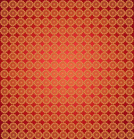 luxury wallpapers with many golden abstract patterns Stock Photo