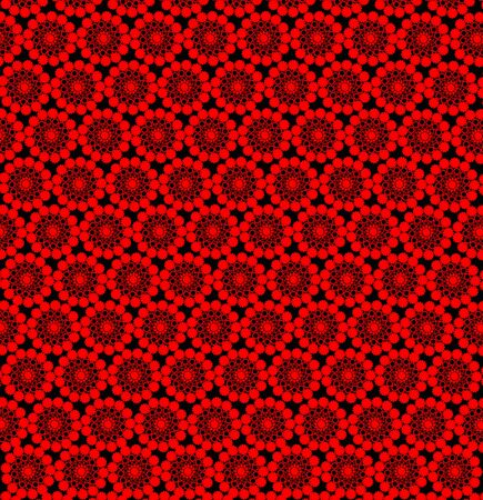 is magnificent: luxury wallpapers with many red abstract patterns