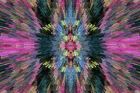 motley: very bright and motley abstraction like explosion
