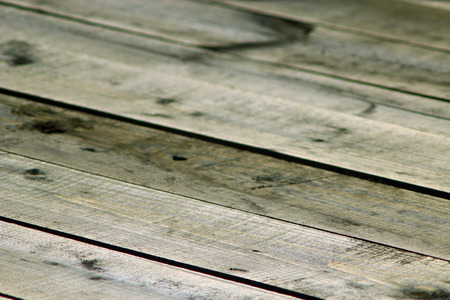 fense: vintage background from dark wooden boards in row Stock Photo