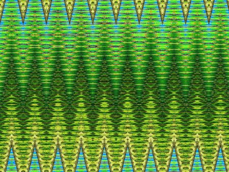 strip structure: green abstract pattern with greenish stripes Stock Photo