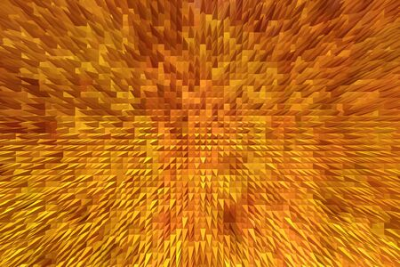 sharp: abstract texture with sharp golden and bright thorns
