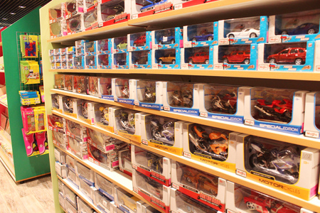 childish: shop of childish toys as cars for boys