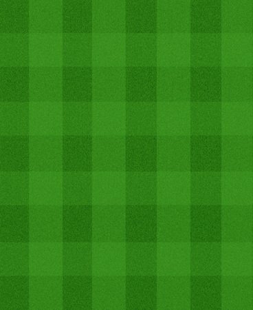 grass field: football field with equal ribbons on the green grass