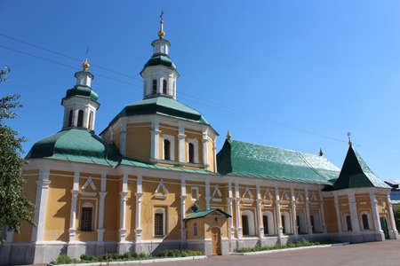 dwelling: nice church cells in Chernihiv dwelling of monks