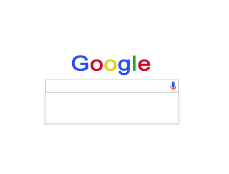 inquiry: empty search line of Google ready for the inquiry