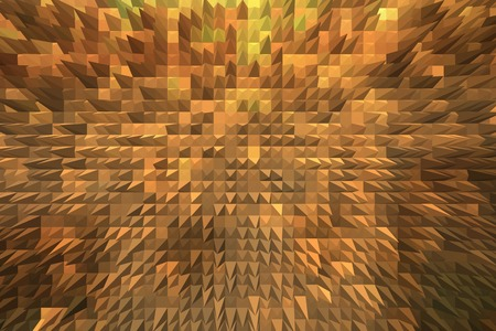 Brown texture with spikes. Creative abstract brown background