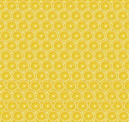 Texture of sliced orange slices on yellow background. Cut pieces of orange. Healthy lifestyle. Healthy nutrition. Fresh fruits