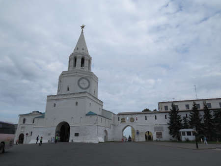 View of the Kazan Kremlin Kazan, Republic of Tatarstan, Russia.