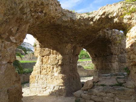Carthago Carthage , ruins of capital city of the ancient Carthaginian civilization.