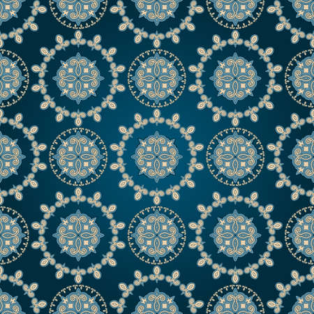 drapery: vector seamless eastern pattern