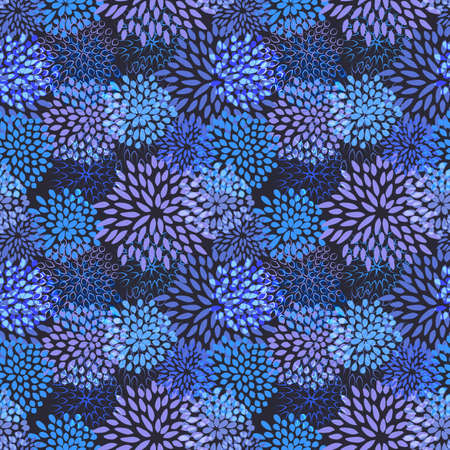 seamless damask: seamless floral background