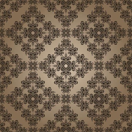 retro patterns: vector seamless vintage retro pattern