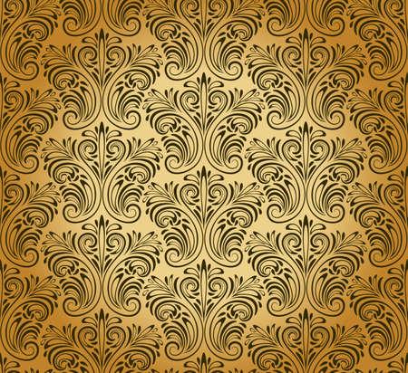 vector seamless vintage pattern Vector