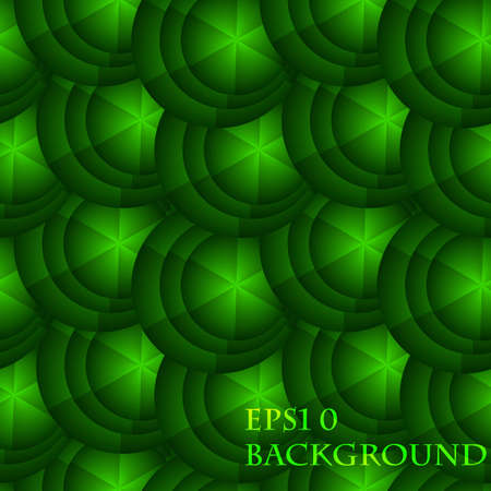 abstract seamless background with green circles Stock Vector - 11558285