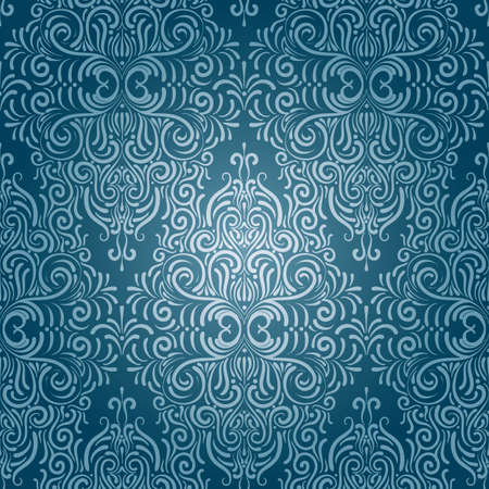 seamless vintage wallpaper Vector