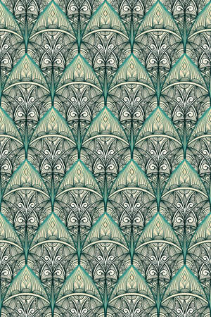 vector seamless vintage pattern  Vector