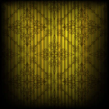 eps 10, vector seamless pattern on grungy background Vector
