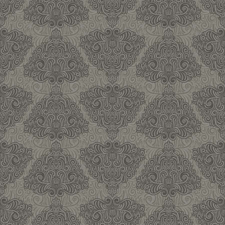 vector seamless retro pattern Vector