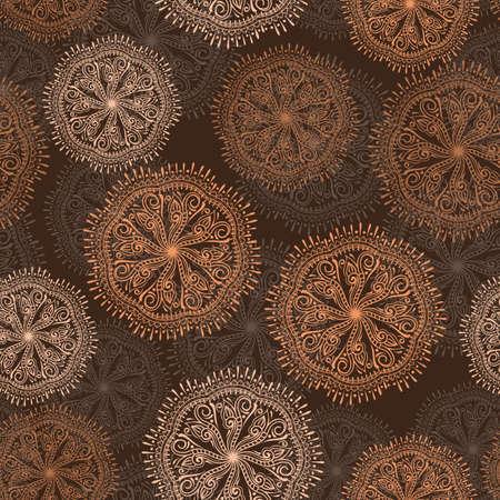 Vektor nahtlose Muster mit Blumen sabstract