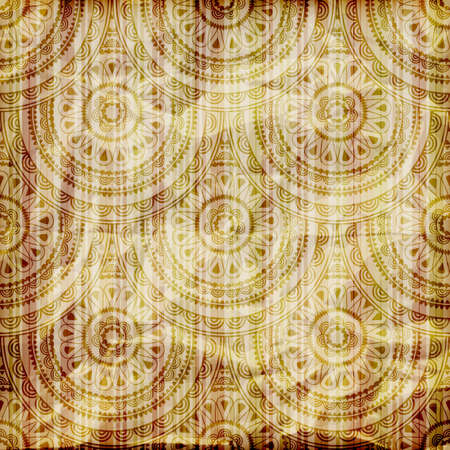 vector seamless abstract wallpaper on striped background,  crumpled burning paper texture Vector